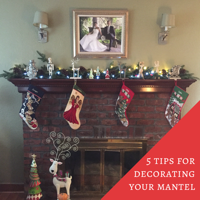 decorating mantel for christmas - Decorating Your Mantel For Christmas