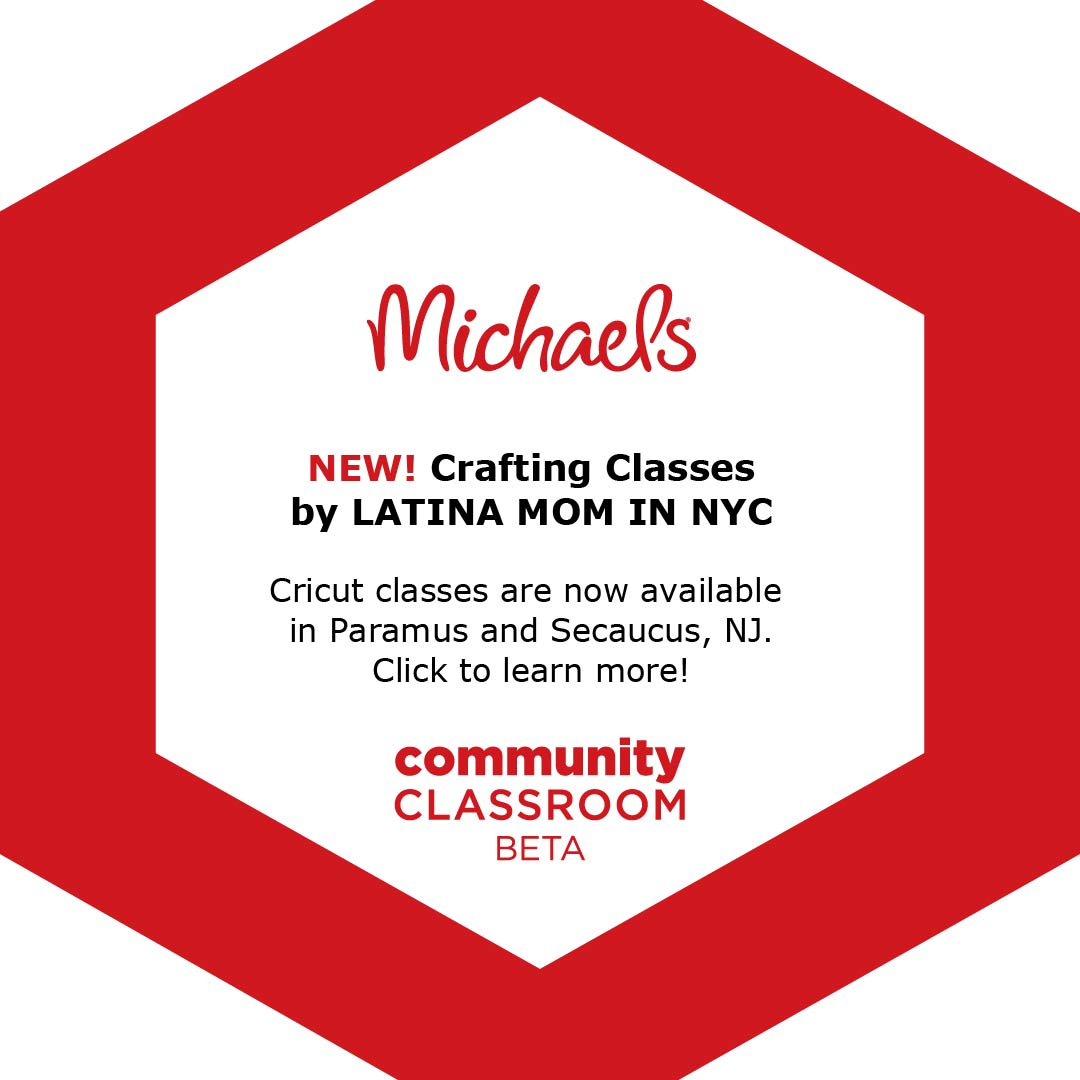 Cricut Class at Michaels Community Classroom - Latina Mom in NYC